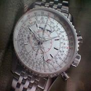 Breitling Navitimer Montbrillant wristwatch with circular slide rule